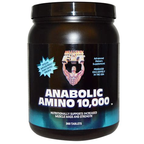 Healthy N Fit, Anabolic Amino 10,000, 360 Tablets - iHerb.com