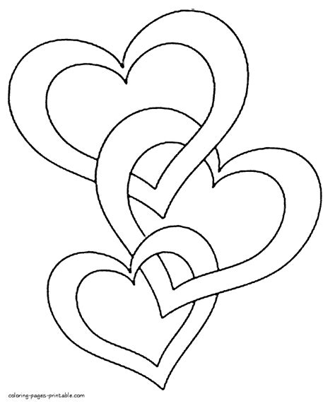 Hearts coloring pages to print | Favorite Coloring Pages ...