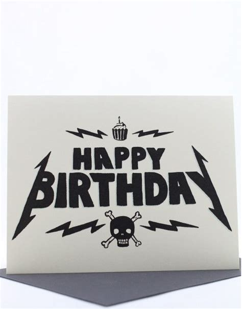 Heavy Metal birthday card | festivity | Pinterest ...