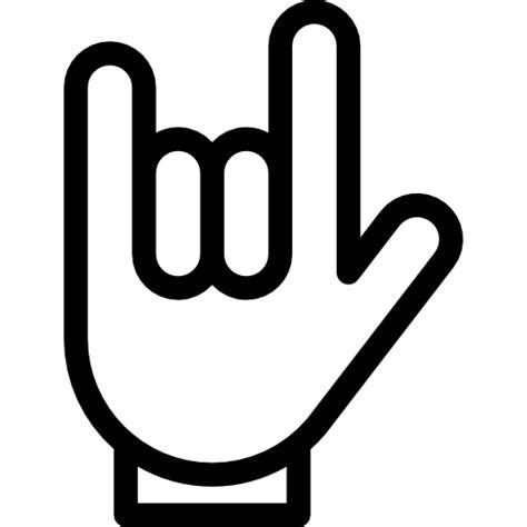 Heavy Metal   Iconos gratis de gestos