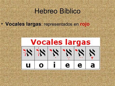 Hebreo biblico 1