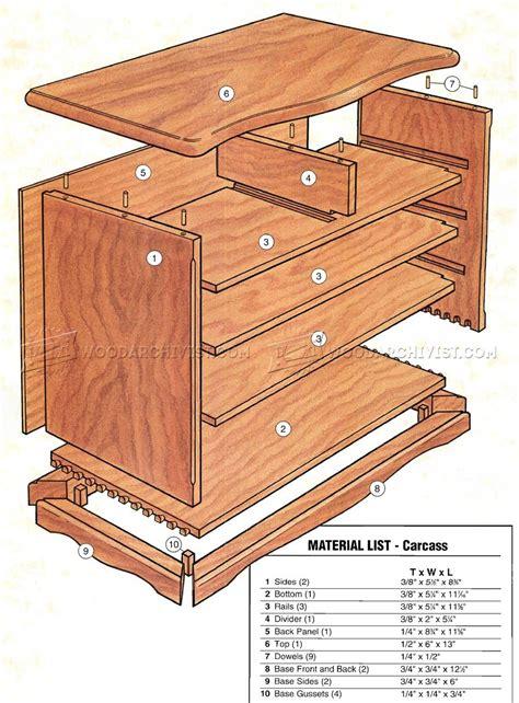 Heirloom Jewelry Box Plans • WoodArchivist