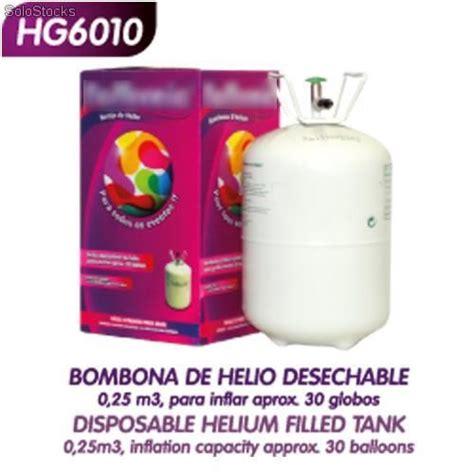 Helio para inflar globos barato
