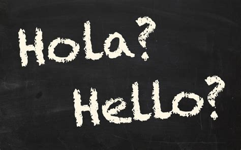 Hello in Spanish : How To Say Hi in Spanish with Luke ...