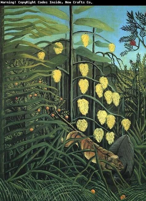 Henri Rosseau   ART   Pinterest   Henri rousseau, Tropical ...