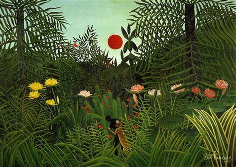 Henri Rousseau. | Ilustraciones | Pinterest | Henri ...