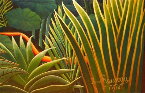 Henri Rousseau Jungles - Elementary Art with Mrs. Steuer ...