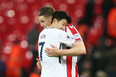 Here are the Son Heung-Min and Kevin Wimmer reunion pics ...