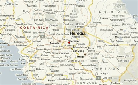Heredia Location Guide