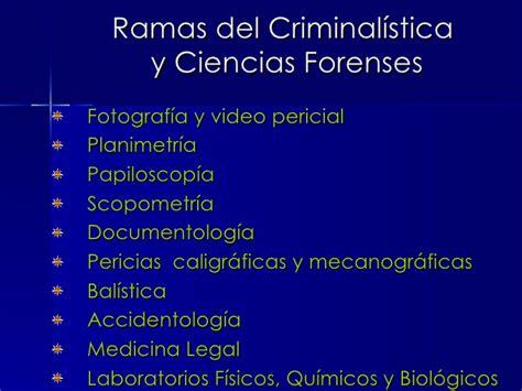 Herramientas de la criminalistica