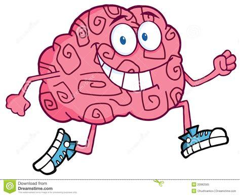 Het Aanstoten Van Het Karakter Van Hersenen Royalty-vrije ...