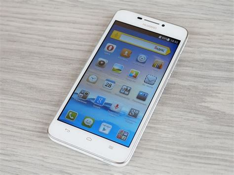 Hi tech News: Review of Huawei Ascend G630: budget, but ...