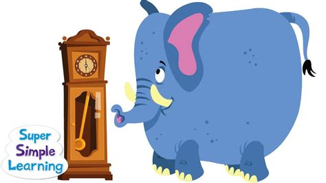 Hickory Dickory Dock | Super Simple Songs - YouTube