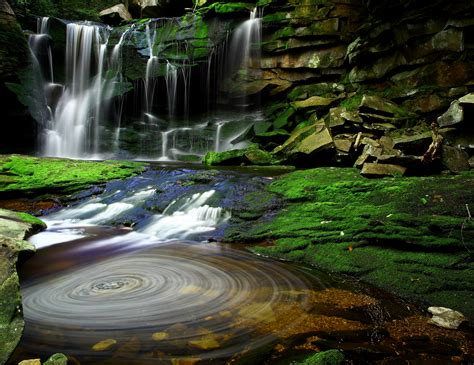 Hidden Forest Waterfalls Revealed in West Virginia