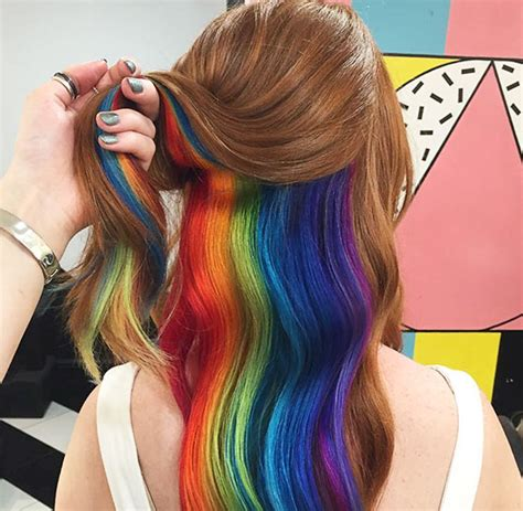 Hidden Rainbow Hair is The Internet's New Obsession – Much ...