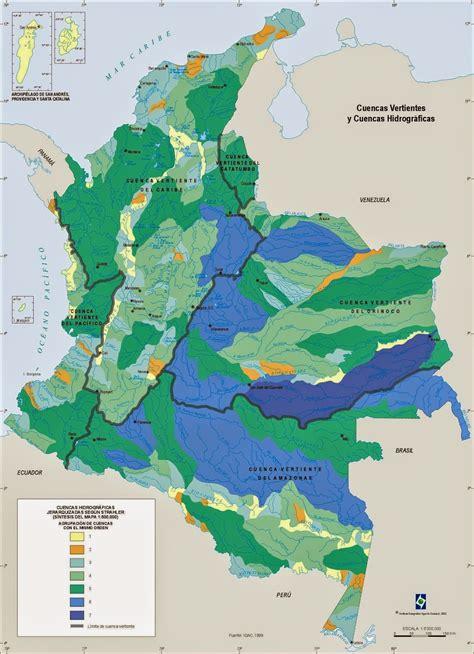 HIDROGRAFIA COLOMBIANA - Didactalia: material educativo