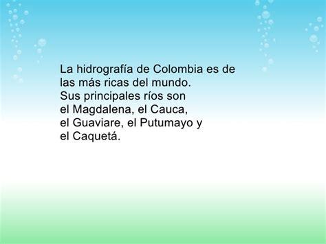 Hidrografìa Colombiana