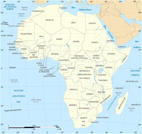 Hidrografia De Africa Mapa