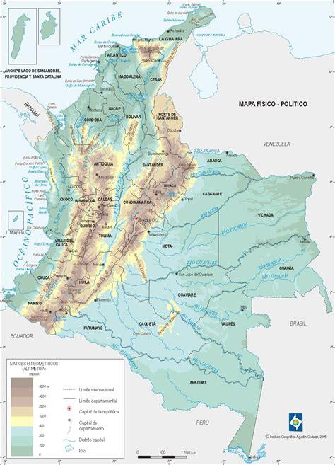 Hidrografía - Geografía- Información General - Colombia ...