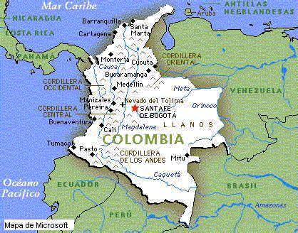 Hidrografia | TURISMO EN COLOMBIA