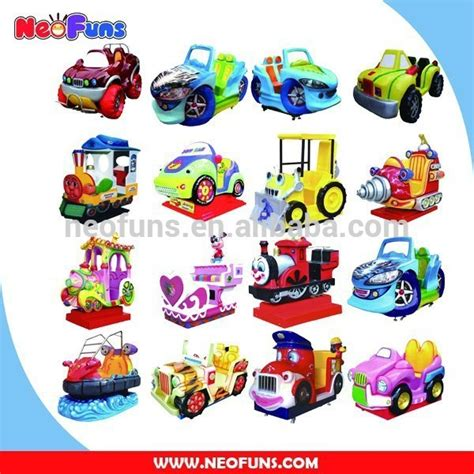 High Quality Fiberglass Dollor Coin Operated Kiddie Rides ...