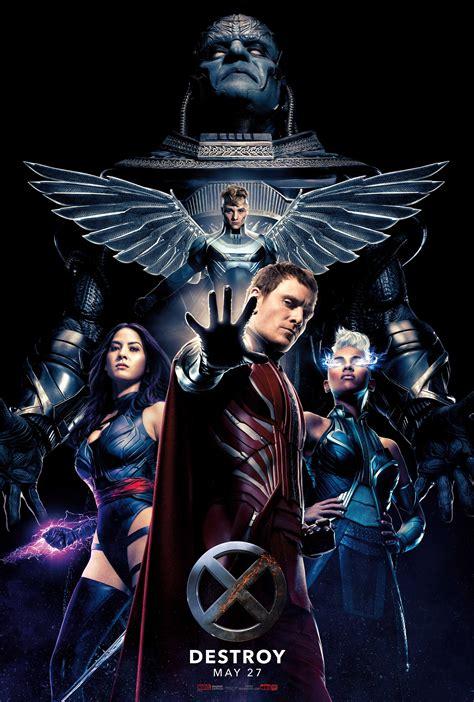 High Res X Men: Apocalypse Posters   Cosmic Book News