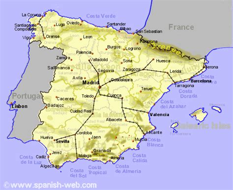 High Speed Rail Lines in Spain   Routes & Costs