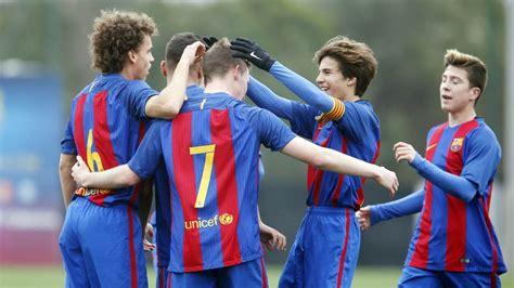 [HIGHLIGHTS] FUTBOL  Juvenil B  FC Barcelona – Mollet  10 ...