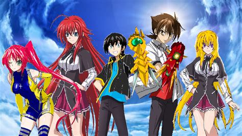 Highschool DxD   Hyoudou Gremory Family  3rd Gen  by ...