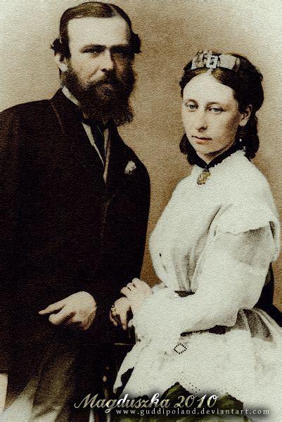 Hija: princesa Alicia del Reino Unido  1843 1978 . Con su ...