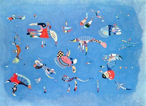Himmelblau   Wassily Kandinsky als Kunstdruck oder ...