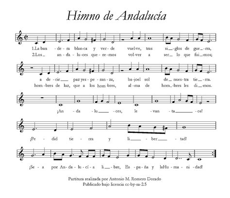 Himno de Andalucía - Wikipedia, la enciclopedia libre
