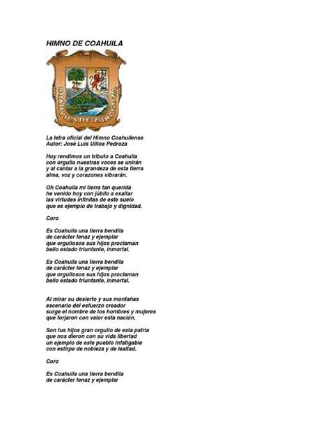 Himno de Coahuila