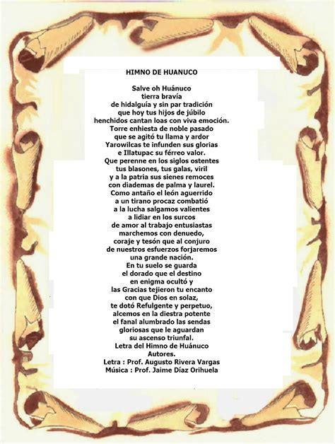 Himno De La Region Huanuco   Chungcuso3luongyen