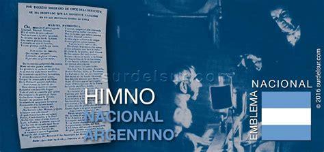 Himno Nacional Argentino: Historia y polémica • El Sur del Sur