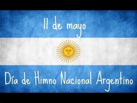 Himno Nacional Argentino (Letra E Imagenes) - YouTube