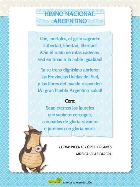 Himno Nacional Argentino – Editorial del Arbol