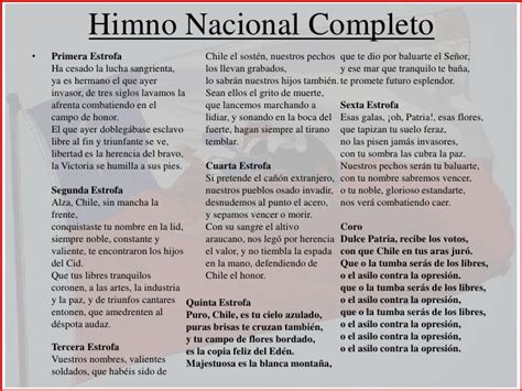 Himno Nacional de Chile