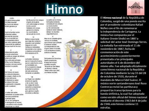 himno nacional de Colombia - ppt descargar