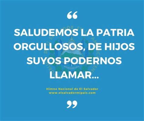 Himno Nacional de El Salvador (Historia y letra) - El ...