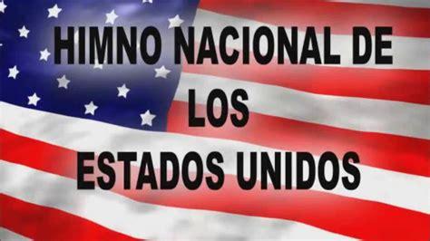himno nacional de estados unidos en ingles himno nacional ...