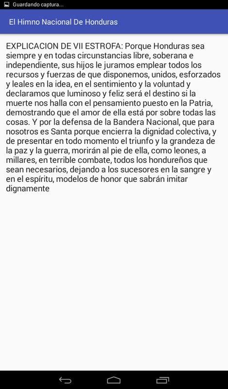 Himno Nacional De Honduras para Android - APK Baixar