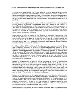 himno nacional de la republica de colombia