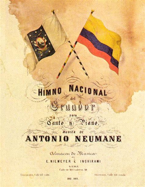 Himno Nacional del Ecuador - Historia del Ecuador ...