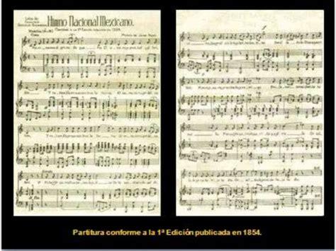 Himno nacional mexicano. Breve Historia