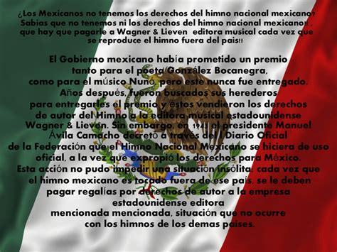Himno nacional mexicano escrito, hd 1080p, 4k foto
