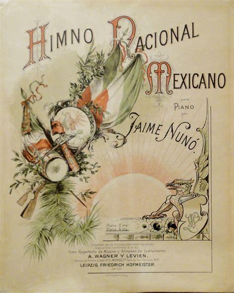 Himno Nacional Mexicano, letra y música | Como en el tianguis