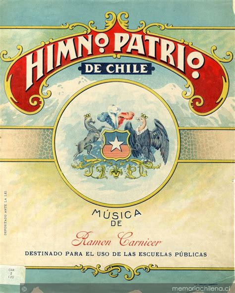 Himno patrio de Chile [música] : [para dos voces ...