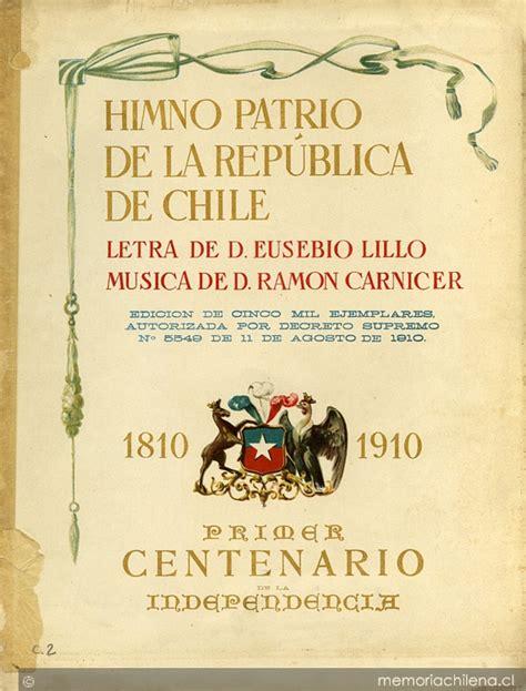Himno patrio de la República de Chile [música] :[para ...