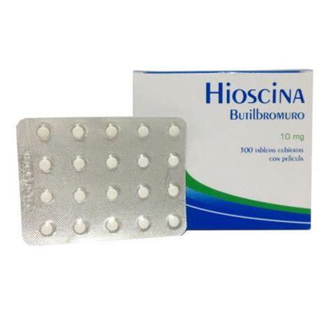 HIOSCINA BUTIL 10 MG CAJA X 300 TAB